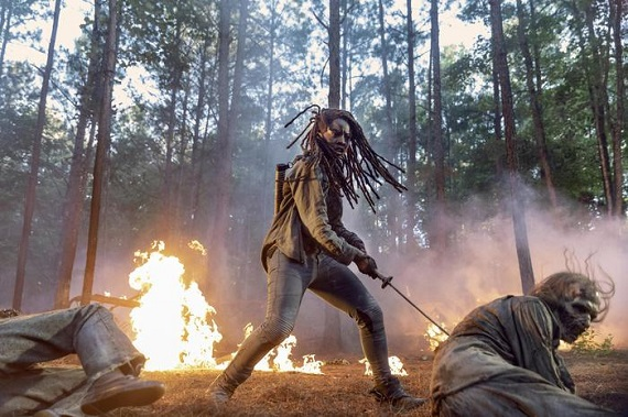 Torna The Walking Dead: Michonne diventa il personaggio più importante