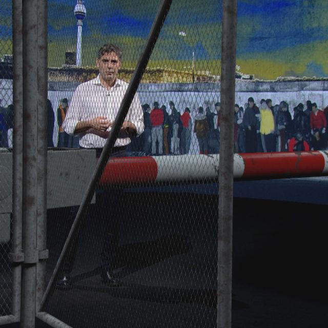 Stasera lo speciale di SkyTg24 che ricostruisce il giorno della caduta del Muro di Berlino