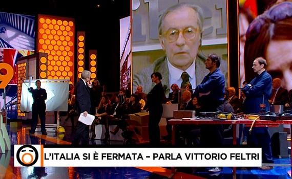 Ascolti tv analisi 12 novembre: Piaggio e Collegio, Rai travolge Mediaset. Talk: Salvini meglio di Veltroni, Feltri rende più di Di Maio