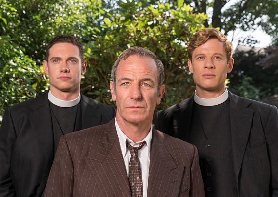 Un poliziotto e un sacerdote a caccia di misteri: su Giallo ritorna Grantchester