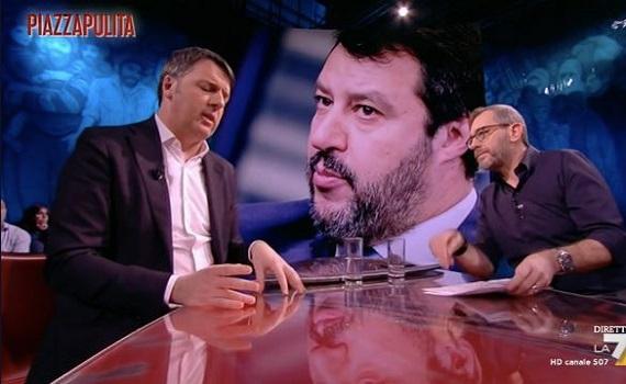 Ascolti tv analisi 23 gennaio: Don Matteo archivia Zalone. Salvini batte Renzi