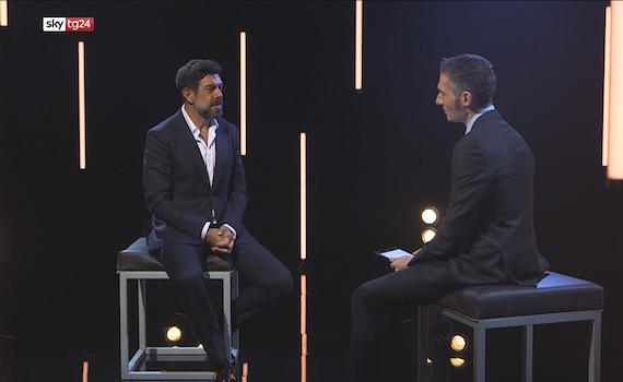"""Questa sera su SkyTg24 """"Lo strano caso di Pierfrancesco Favino"""", un colloquio con l'attore tra pubblico e privato"""