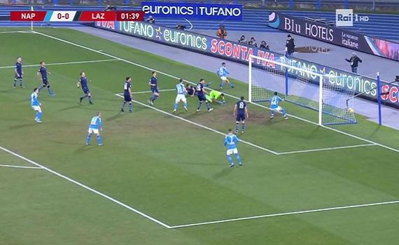Ascolti Tv 21 gennaio tutti i dati: Napoli-Lazio 5,6 milioni, New Amsterdam 2,3, La pupa e il secchione 1,8. Floris sprinta su Berlinguer