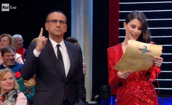 Ascolti Tv 28 febbraio: Carlo Conti batte l'amica Maria De Filippi di un soffio in sovrapposizione