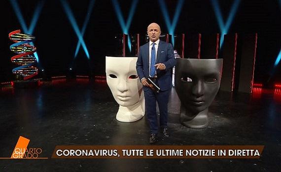 Curve ascolti Tv 21 febbraio: Conti, Signorini, The Good Doctor e il corona virus, Nuzzi, Zoro protagonisti