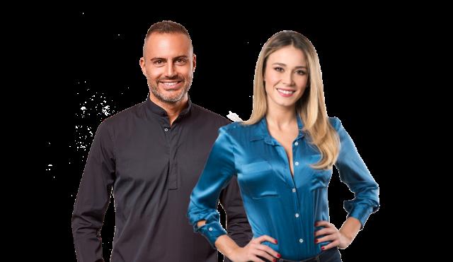 Al via oggi su Radio 105 Tv il programma 105 Take Away, condotto da Daniele Battaglia e Diletta Leotta