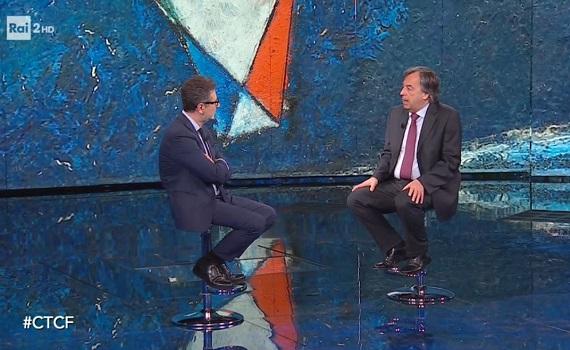 Ascolti tv analisi 8 marzo, effetto Covid: Ranieri saluta bene i fedeli, Fazio cresce più di D'Urso, Juve-Inter riempie il vuoto