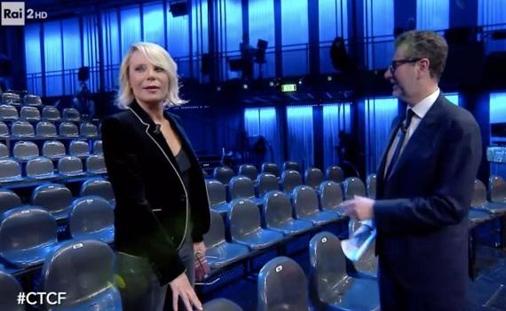 Ascolti tv analisi 1 marzo: Meno Covid e niente calcio, così Ranieri convoca i fedeli, D'Urso cresce e Fazio cala un po'