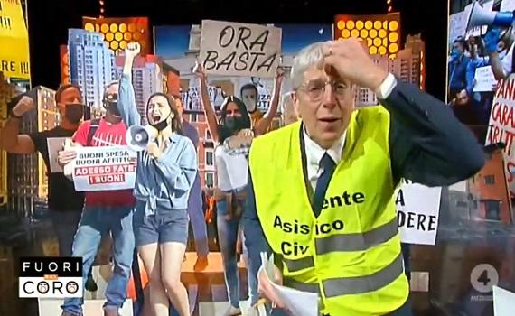 Ascolti tv analisi 26 maggio: Rai1 doppia Canale5. Giordano (picco con Salvini) batte Floris (Capua) e Berlinguer (Corona). Iene night con lo zio