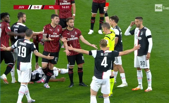 Ascolti tv 12 giugno: Juve-Milan di Coppa Italia fa 8,277 milioni e il 34%. Tutti gli altri sotto il 10%, bene Nuzzi