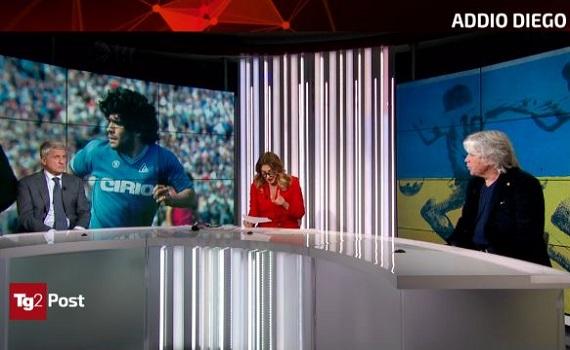 Ascolti tv analisi 25 novembre: Hunziker batte Capotondi, Sciarelli e la Champions pay. L'Alligatore annega tra i tributi a Maradona