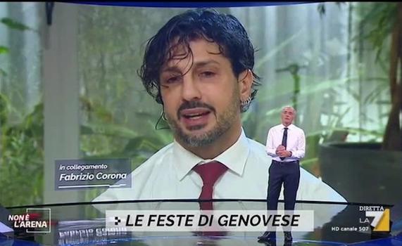 Massimo Giletti, Fabrizio Corona e la strana ricostruzione del caso Genovese
