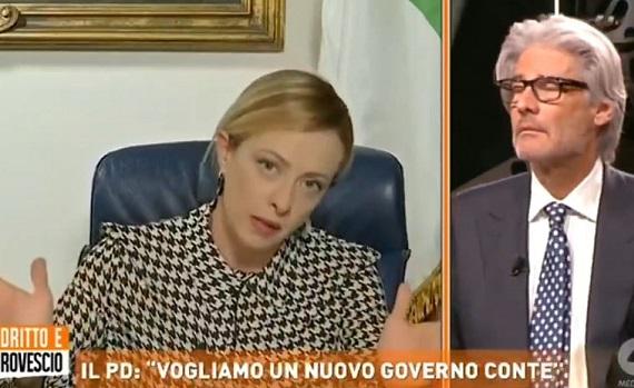 Ascolti tv 28 gennaio: Elena Sofia Ricci (e Gattuso) strapazzano Canale5. Dopo Caserma e Collegio, Pucci pare vintage. Del Debbio al top con Meloni