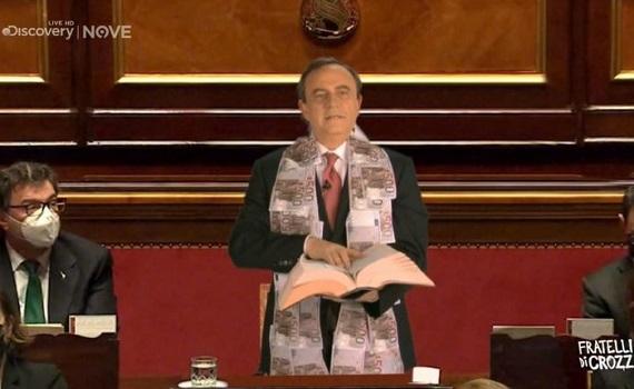 Ascolti Tv 19 febbraio: Carlucci sale a 3,743 mln e 17,4% e vince, Signorini raggiunge 3,491 mln e 19%. Crozza torna e batte Nuzzi, Zoro, Giacobbo