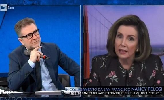 Ascolti Tv 21 marzo analisi: Zingaretti e Ranieri, uniti si replica e si vince. Fazio con Nancy Pelosi, D'Urso con Dayane Mello, Giletti con Argento e Arcuri