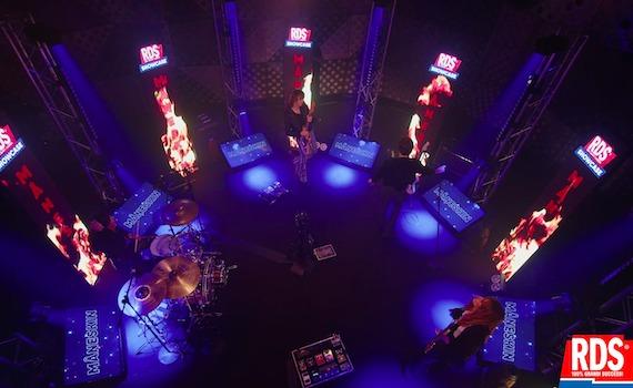 RDS riporta la musica live con i Måneskin