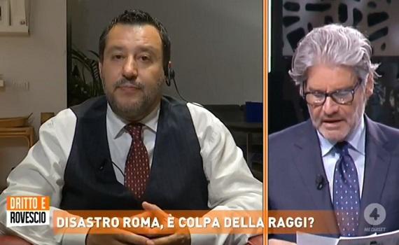 Ascolti tv analisi 10 giugno: ammiraglie male, fa il botto Del Debbio con Salvini, il caso della povera Saman e Corona nel finale