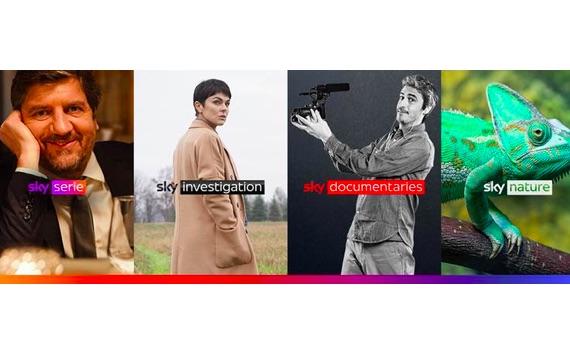 Sky rinnova l'offerta con 4 nuovi canali