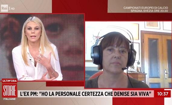 Ascolti tv 14 giugno analisi: Storie Italiane boom con 'Denise viva'. Gli Europei crescono ancora. E stasera c'è Francia-Germania