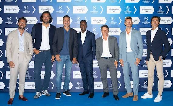 Amazon schiera la squadra da Champions League